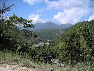 Nombre de Dios mountains in Honduras