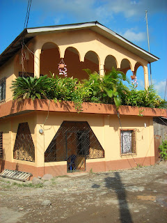 Typical Honduras house