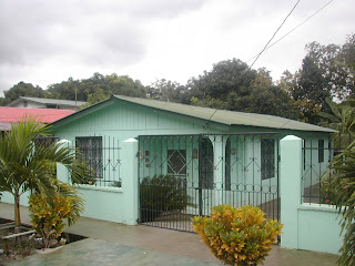 typical Honduran house, La Ceiba