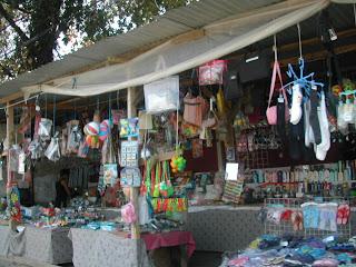 Carnaval street vendors