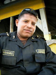guard, La Ceiba, Honduras prison