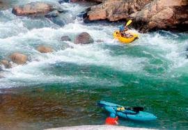Cangrejal river rafting, La Ceiba, Honduras