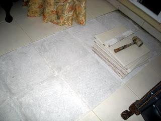 tile floor problem