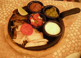 fajitas, Fogoncito, La Ceiba, Honduras