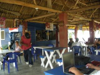Restaurant, El Porvenir, Honduras