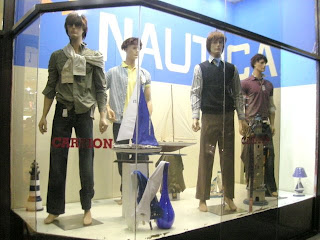 badly coiffed mannequins, La Ceiba, Honduras