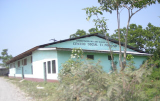 Social Center, El Porvenir, Honduras