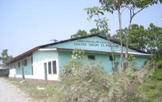Social Center, El Porvenir, Honduras