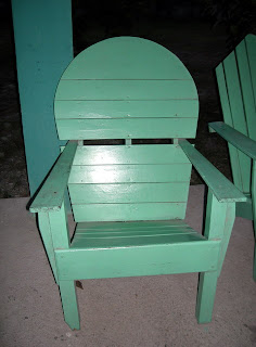 wooden chair, Honduras