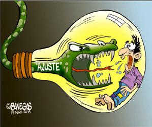 electric rate cartoon, Honduras