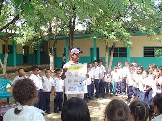 students, El Porvenir, Honduras