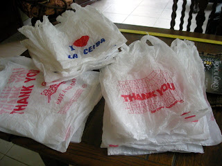 plastic bags