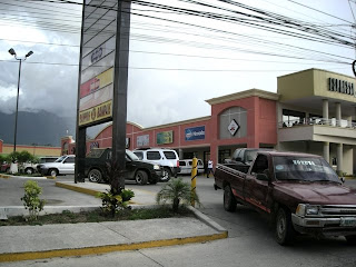 new strip mall in La Ceiba, Honduras