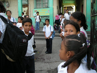 La Ceiba, Honduras, school children
