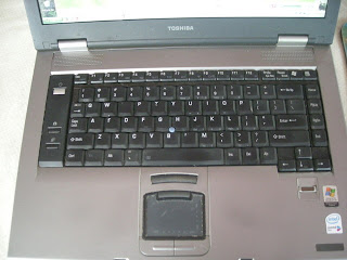 La Gringa's year-old laptop