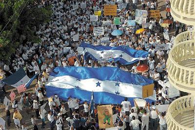 La Ceiba, Honduras, anti-zelaya protesters