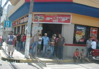 La Ceiba, Honduras, June 28, 2009