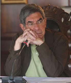 Costa Rica President Oscar Arias