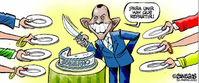 Honduras President Lobo cartoon