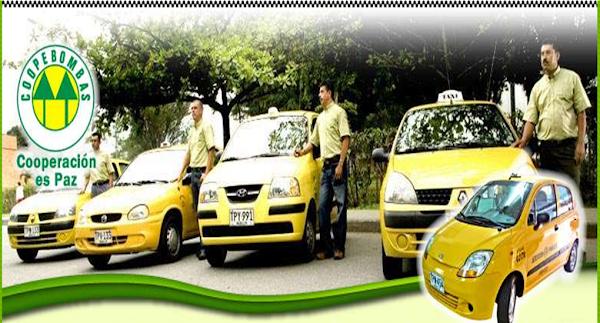 Empresa de taxis Coopebombas