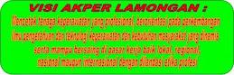 VISI AKPER LAMONGAN