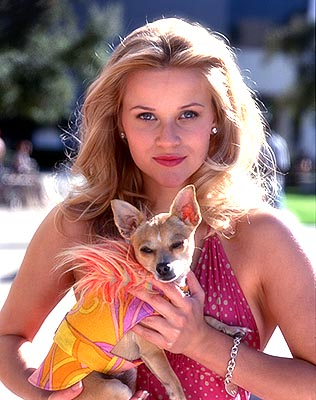 Reese Witherspoon in Legally Blonde 2. My ultimate dream, to work with Reese