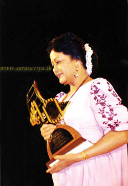 Queen of Sinhala Cinema Malani Fonseka
