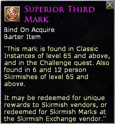 LOTRO Superior Third Mark