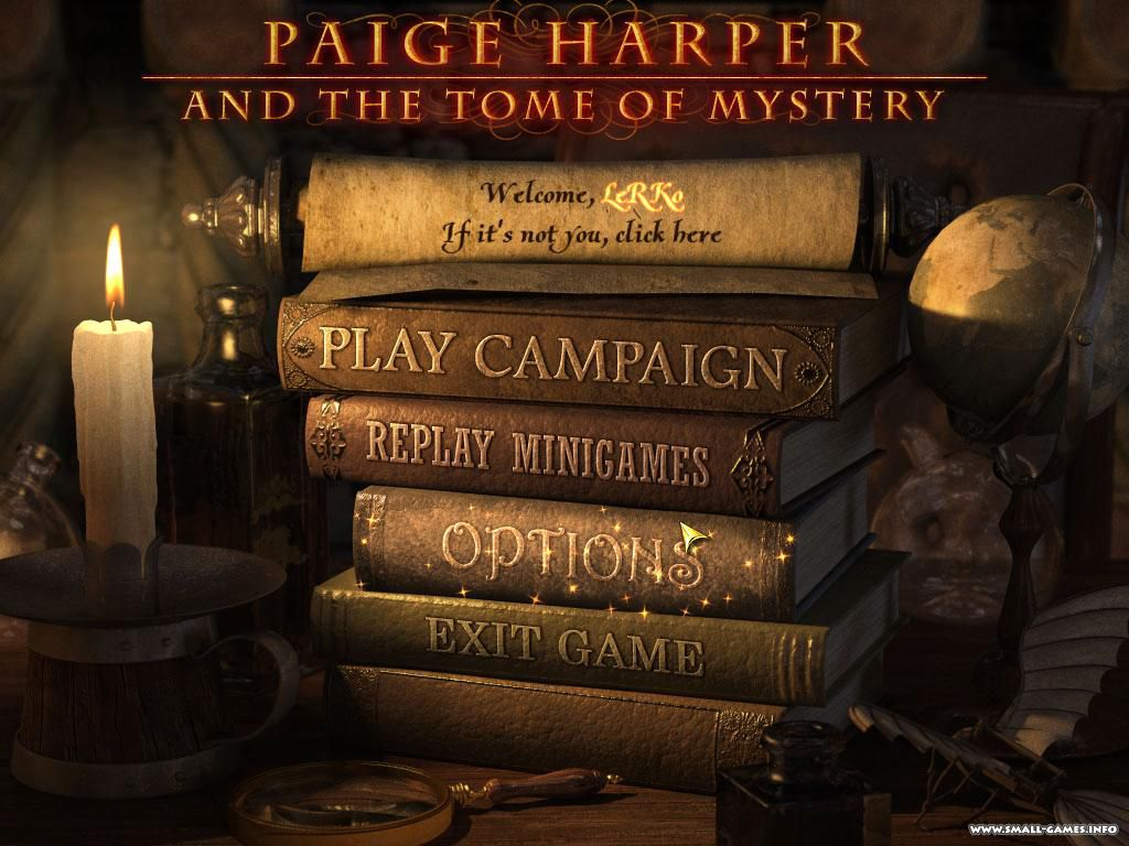 Game paige harper and the tome of mystery