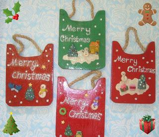 Hiasan Dinding Menyambut Natal 2008