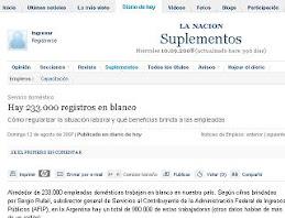 Nota a Alejandro Scachi en el diario LA NACION
