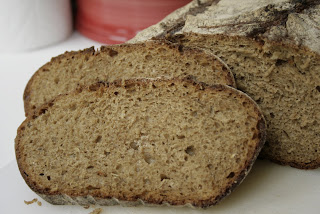 Ароматный ржано-пшеничный хлеб