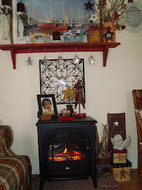 """Our """"Make-Do"""" Fire Place"""