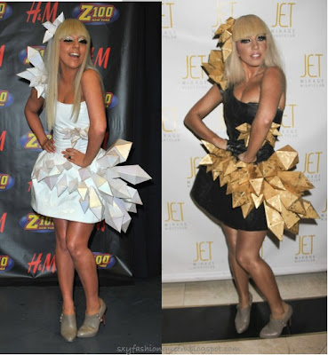 Lady Gaga Meat Outfit At Vma. Lady Gaga Halloween Costume