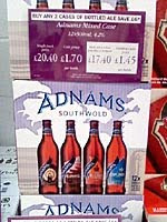 Adnams mixed box at Majestic