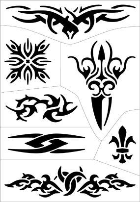 100 wattlebird easy diy temporary tattoos easy pen for Temporary tattoo tracing paper