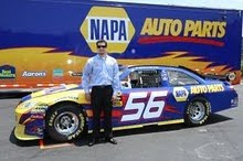 Local Kid Makes It Big In NASCAR