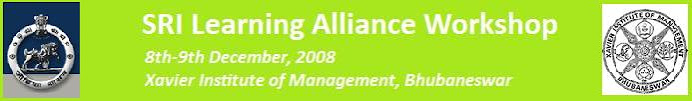 SRI Learning Alliance Workshop