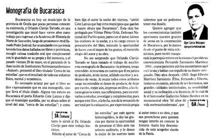 MONOGRAFIA DE BUCARASICA  - Olger García Velásquez