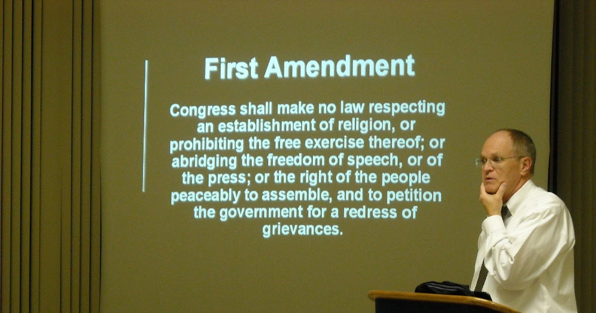 the first amendment and its impact View the first amendment and its impact on education from educ bio 100 at university of phoenix.