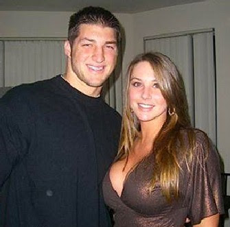 Pictured: Tebow, One of my countless ex girlfriends