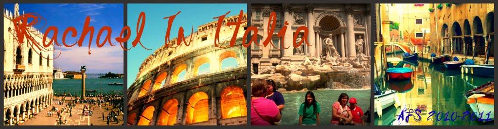 il mio anno in Italia (My Year In Italy) ♥