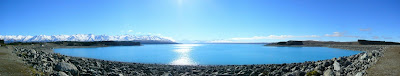My New Zealand Vacation, Lake Tekapo, Mount Cook, Aoraki, Pano249