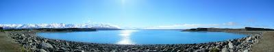 My New Zealand Vacation, Lake Tekapo, Mount Cook, Aoraki, Pano249