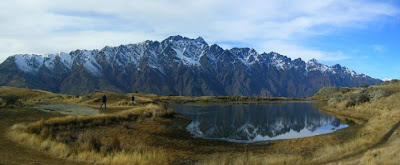 My New Zealand Vacation, The Remarkables, Deer Park, Queenstown, Pano142