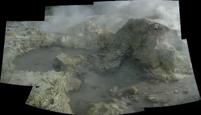 My New Zealand Vacation, Rotorua, Hell's Gate, Pano49