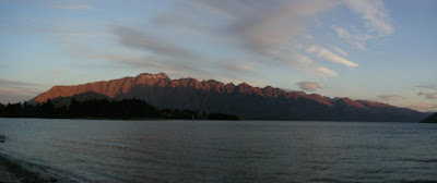 My New Zealand Vacation, Queenstown, The Remarkables, Pano73