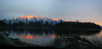 My New Zealand Vacation, Queenstown, The Remarkables, Pano156a-Crop