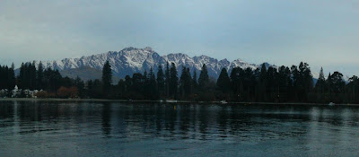 My New Zealand Vacation, Queenstown, The Remarkables, Pano160-Crop