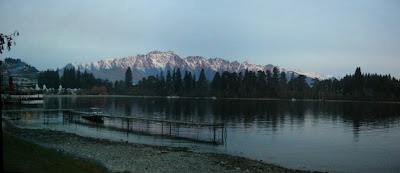 My New Zealand Vacation, Queenstown, The Remarkables, Pano161a